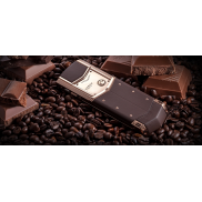 Vertu © Signature S Design Pure Chocolate© (Red Gold Brown Leather)