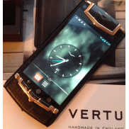 Vertu © Ti Gold Android Alligator Leather
