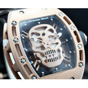 Richard Mille Gold Skull